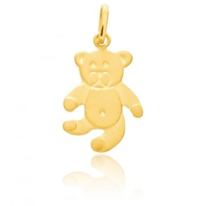 Pendentif enfant Ours, Or jaune 18 carats - Emanessence
