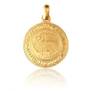 Médaille Agnel De Louis X, Or jaune 18 carats - Monnaie de Paris