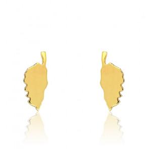 Boucles d'oreilles Corse, Or jaune 9K - Rosatella