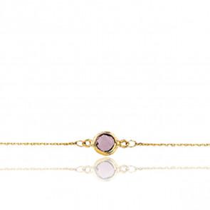 Bracelet Or jaune 18K et Quartz - Rosatella