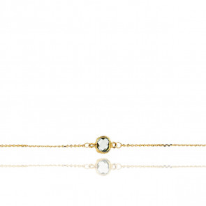 Bracelet Or jaune 18K & Topaze - Rosatella