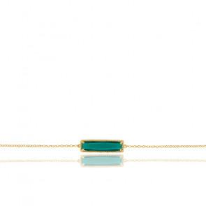 Bracelet Perlé Cristal et Argent Doré 925/1000 - Rosatella