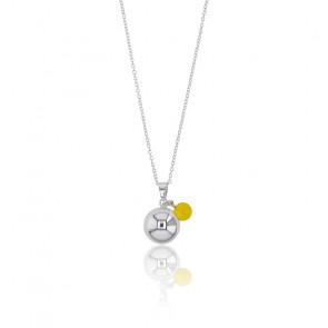 Bola de grossesse Charm, Laiton & Ambre jaune - Rosatella