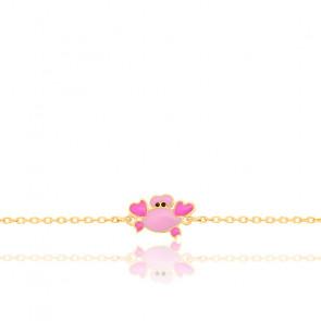 Bracelet enfant Crabe, Or jaune 9K - Bambins