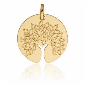 Médaille Arbre de vie Ouverte, Or jaune 18K - Vandona