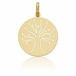 Médaille Arbre de vie ajouré, Or jaune 18K - Vandona