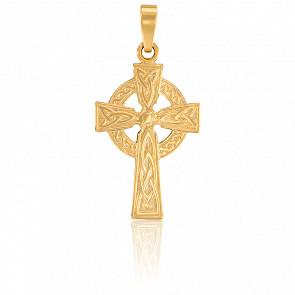 Croix celtique, Or Jaune 9K - Vandona