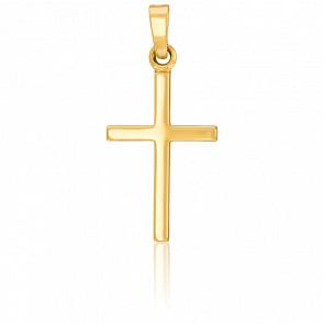 Croix fil simple, Or jaune 18K - Vandona