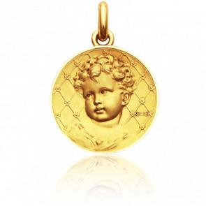 Médaille Bébé Becker, Or jaune 18K - Becker