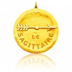 Pendentif Signe Astrologique Sagittaire, Or jaune 18K - Becker