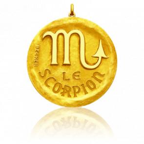 Pendentif Signe Astrologique Scorpion, Or jaune 18K - Becker