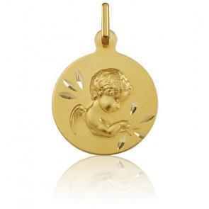 Médaille Ange à l'Etoile, Or jaune 18K - Argyor